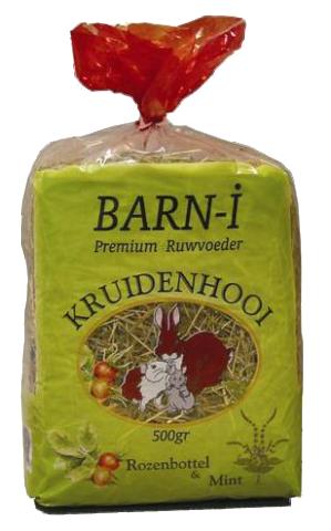 Puur natuur Barn-i rozenbottel/mint 500 gr